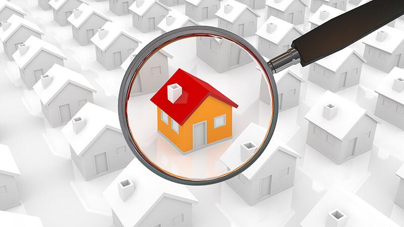 Поиск объекта недвижимости при помощи сервиса