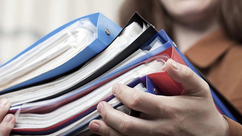 Список документов, которые следует подготовить заранее