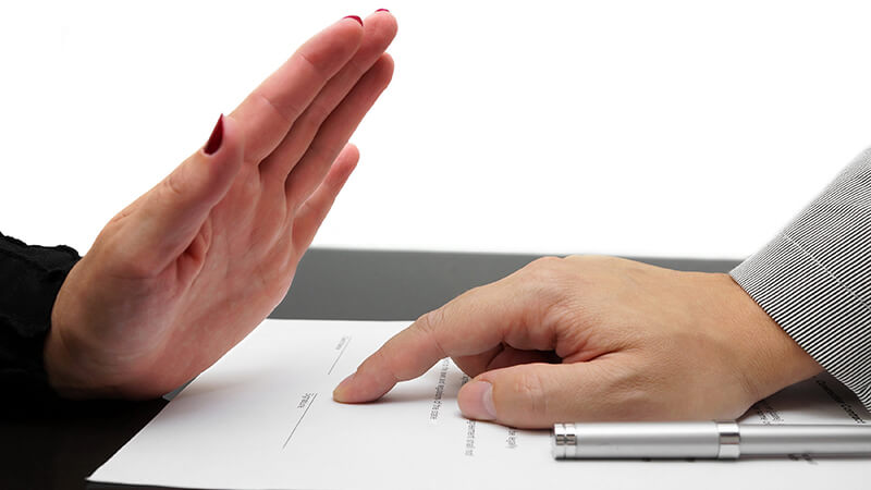 Отказ от ипотеки до подписания кредитного договора