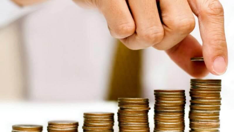 Откладывание средств на депозите