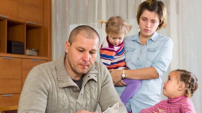 Проблемы многодетной семьи